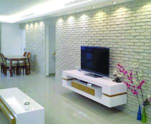 חיפוי קירות בסלון – 5 טיפים לשימוש נכון ועיצוב מרהיב!